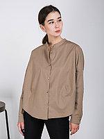 """Рубашка """"Шарик"""" с длинными рукавами хаки, 48/52"""