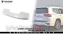 Спойлер на багажник на Land Cruiser 300 (070) Белый жемчуг