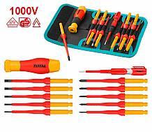 Набор диэлектрических отверток 1000V TOTAL арт.THKISD1201