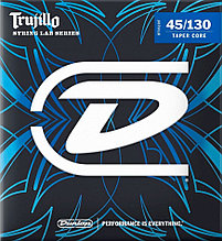 Струны для 5-струнных бас-гитар 45-130 Dunlop Robert Trujillo RTT45130T