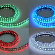 Светодиодная лента влагозащищенная VOLGA/RGB 8W/m IP65 220-240V
