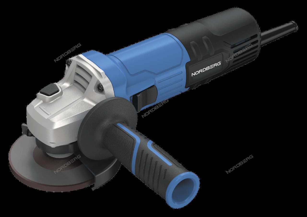 УШМ с регулировкой оборотов, Ø диска 125 мм, 3000-11000 об/мин, 1050Вт NORDBERG NE211