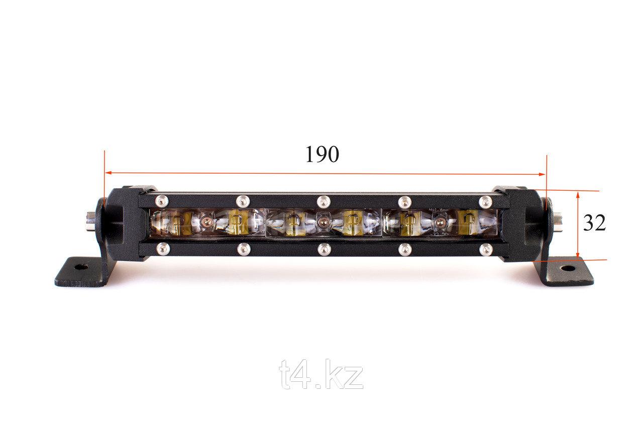 Люстра светодиодная тонкая 190мм / 30W Cree- T4
