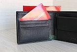 Мужское портмоне из натуральной кожи KAOBERG, фото 6
