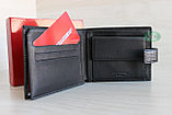 Мужское портмоне из натуральной кожи KAOBERG, фото 7