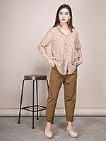 Рубашка с карманами и принтом в квадратик