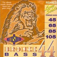 Струны для 5-ти струнной акустической бас-гитары 45-105, бронза Rotosound RS44LD