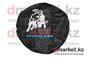 Чехол на запасное колесо R16 Bull WD, кожзам
