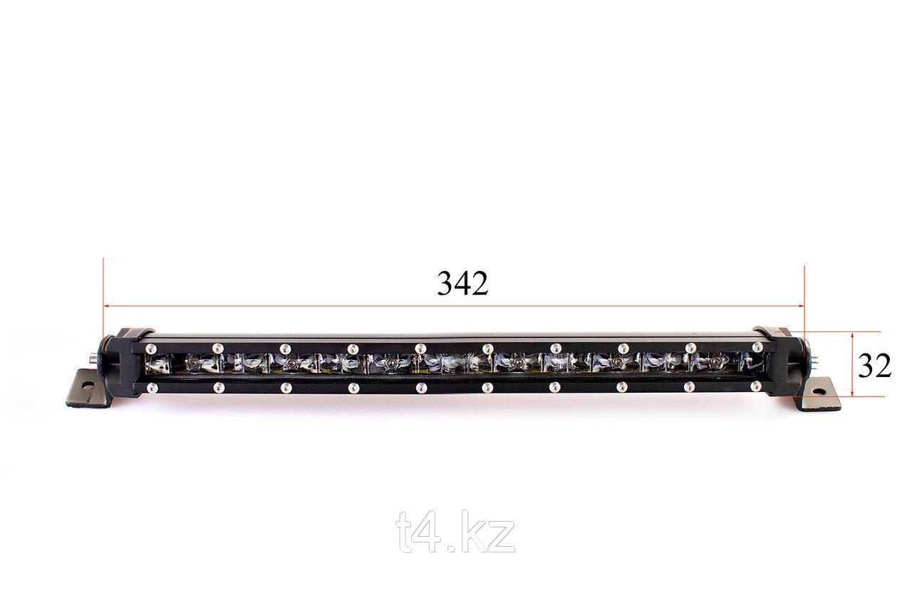 Люстра светодиодная тонкая 342мм / 60W Cree- T4