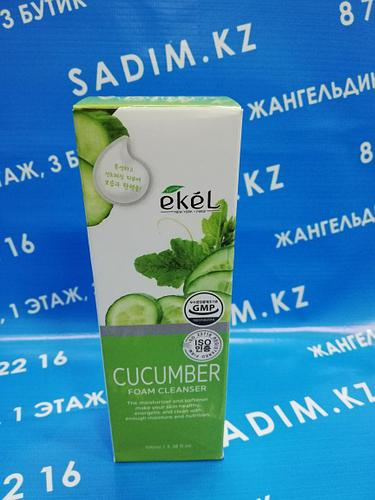 Ekel Cucumber Foam Cleanser 100 мл Пенка для умывания с экстрактом огурца