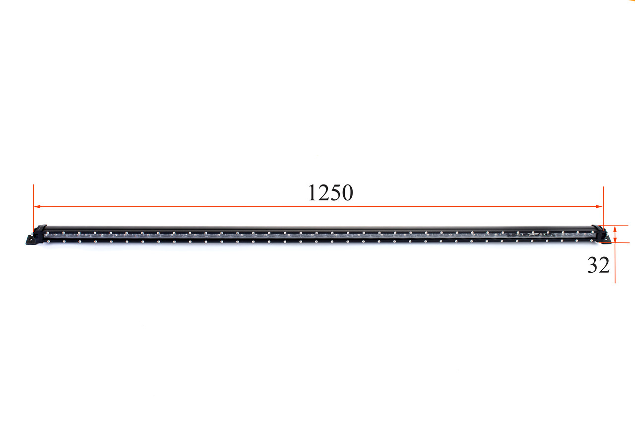 Люстра светодиодная тонкая 1250мм / 240W Cree- T4