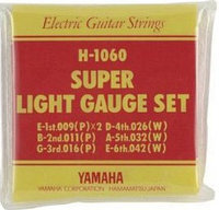 Комплект струн для электрогитары, Yamaha H-1060