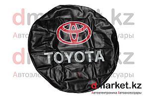 Чехол на запасное колесо R16 Toyota, кожзам