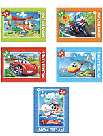 Подарок - Пазл Детский - Веселый транспорт( 54 элемента)