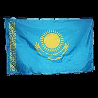 Государственный Флаг Республики Казахстан, политекс, 1,5*3 м