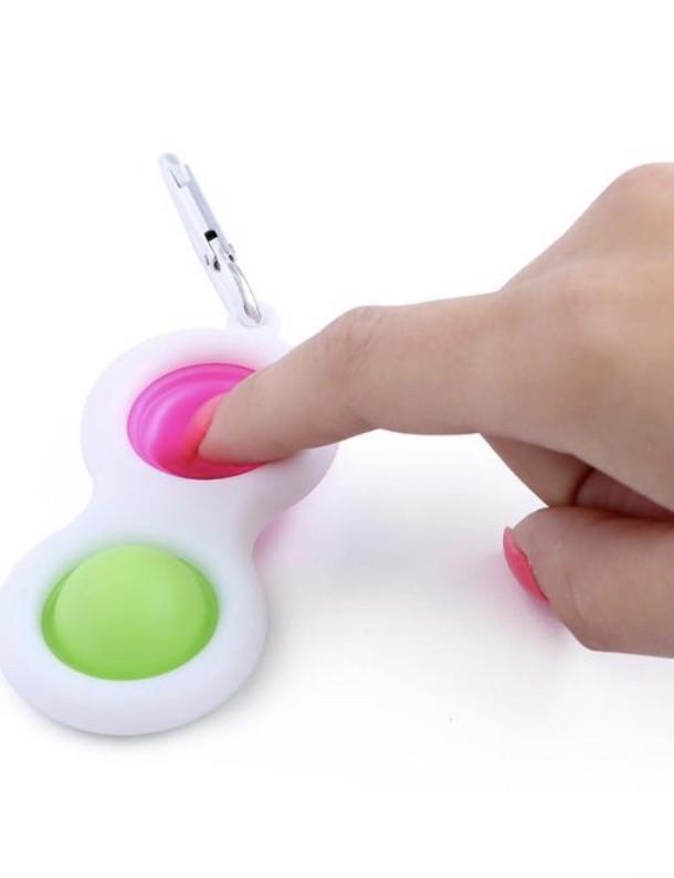 Подарок - Тактильная сенсорная игрушка POP it