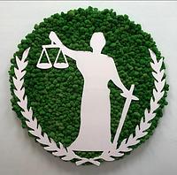 Логотипы из искусственных растений