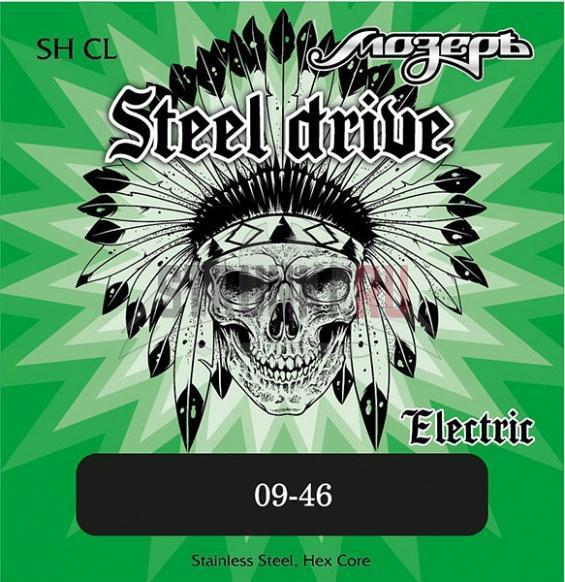 Струны для электрогитары Мозеръ SH CL Steel Drive