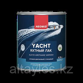 Яхтный лак алкидно-уретановый Neomid 0,75 л (глянцевый)