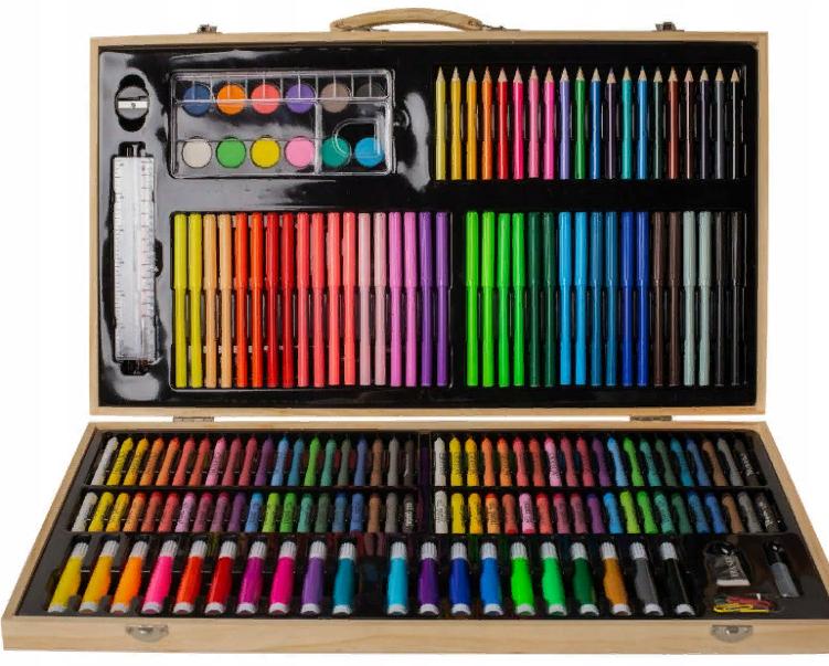 Набор для рисования 220 предметов