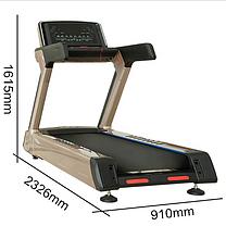 Профессиональная беговая дорожка KT-7600A LED до 200 кг, фото 2