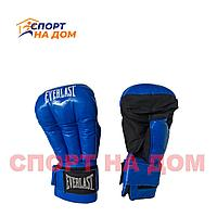 Перчатки для рукопашного боя Everlast (10 OZ,синий)