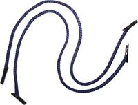 Ручка - шнур №32 (синяя) 35 см с пластиковыми наконечниками