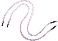 Ручка - шнур №04 (белая) 35 см с пластиковыми наконечниками
