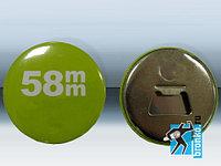 58мм - Заготовки значков, открывашка бутылок (в уп. 100шт) с магнитом