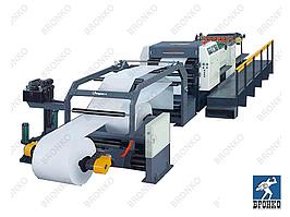 GM-1400 (4 роля). Сервоприводная высокоскоростная листорезательная машина