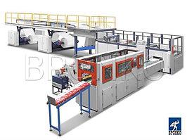 Машина для размотки резки и упаковки бумаги в А4 формат