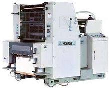 Однокрасочная офсетная печатная машина GRONHI YK 660