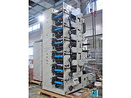 Флексографическая машина секционного построения (линейная) вертикального типа RY320-6IRUV