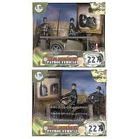 Игровой набор WP Патруль 1:18, 2 фигурки, 2 в асс. MC77019