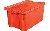 Ящик Универсальный 600*400*350, с крышкой, преф. дно сплошное