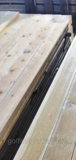 Террасная доска лиственница 140/120*30 мм, кат. ВС