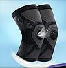 Бандаж компрессионный на коленный сустав с силиконовым кольцом Алматы