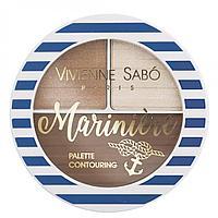 Vivienne Sabo Палетка для скульптурирования лица Marinière Palette Contouring