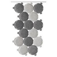 Звукопоглощающая панель ОДДЛАУГ серый ИКЕА, IKEA