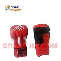 Перчатки для рукопашного боя Adidas (6 OZ,красный)