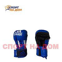 Перчатки для рукопашного боя Adidas (4 OZ,синий)
