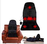 Массажная накидка с функцией подогрева. Massage robotic cushion 5., фото 3