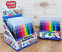 886-1 Watercolor pen 12pcs фломастеры для ручки аэрографии , цена за 1 пачку (12шт)