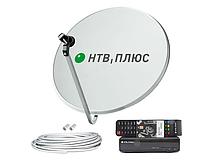 Комплект спутникового ТВ НТВ плюс с ресивером
