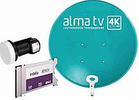 Комплект спутникового телевидения Алма тв с Cam-модулем
