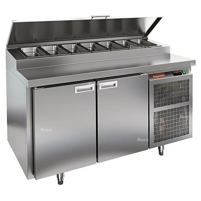 Стол холодильный для пиццы Hicold PZ2-11/GN (8xGN1/6)
