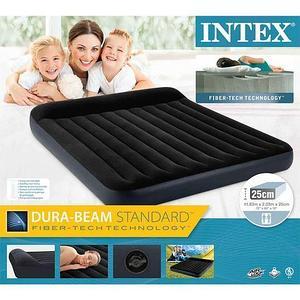 Матрас надувной с подголовником INTEX Pillow Rest Classic Airbed (64144, 183х203х25 см)