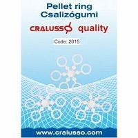 Кольца для пеллетса Cralusso Pellet ring Large 10-28mm