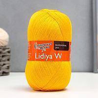 Пряжа LidiyaWool (ЛидияЧШ) 100% шерсть 1613м/100гр (90216 канар_v2)