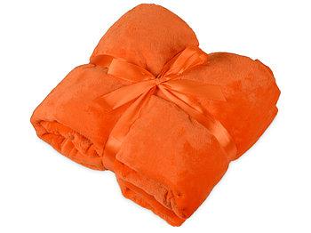 Плед мягкий флисовый Fancy, оранжевый